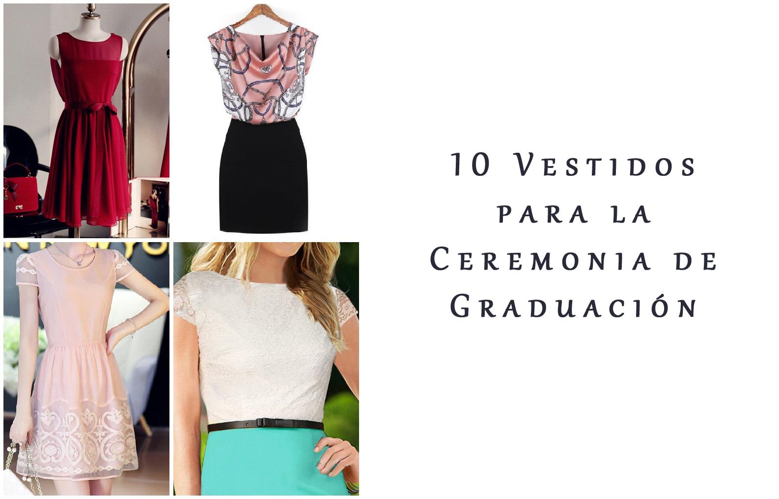 Vestidos ceremonia graduacion