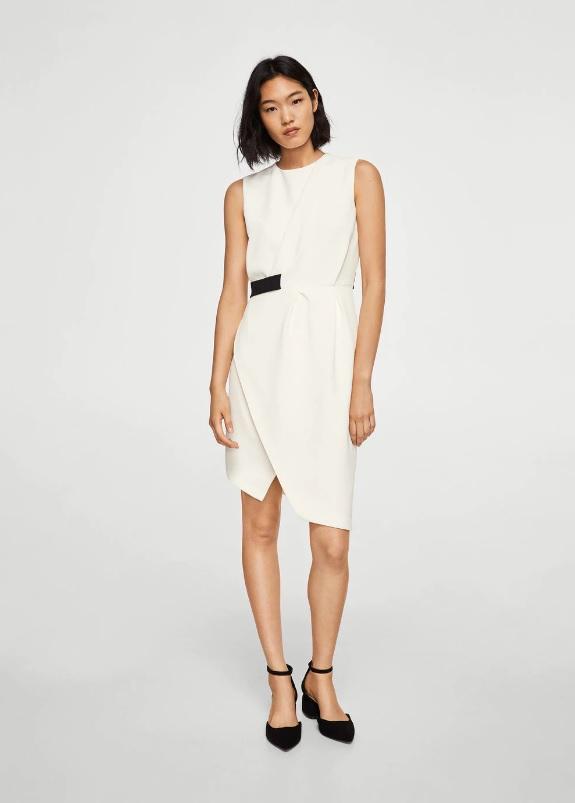 Vestidos blancos mango 2018